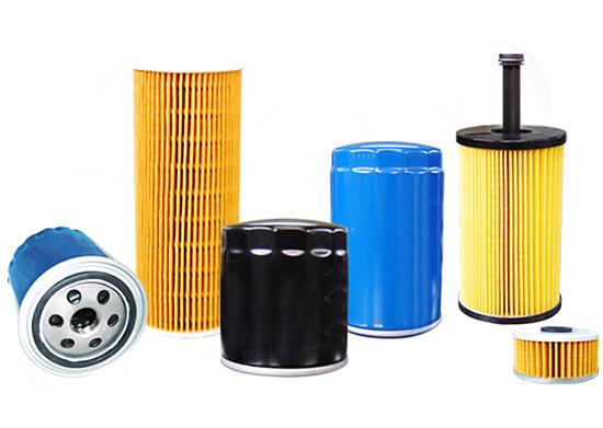 Papel filtrante de aceite de motor